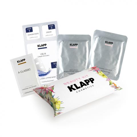 Набор (3-х шаговый набор перчатки, носочки, патчи,) KLAPP Beauty KIT