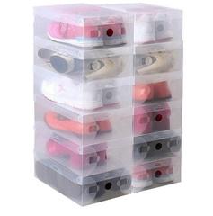 Коробки для хранения обуви прозрачные (набор 5 шт)