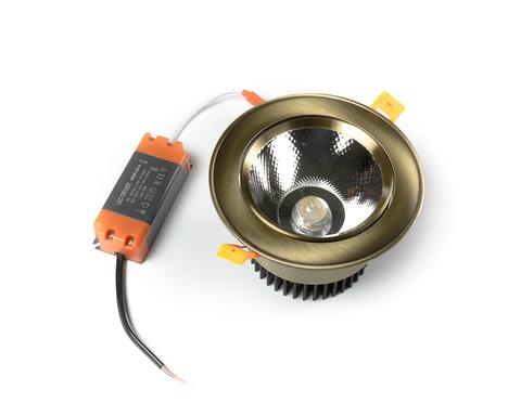 светильник точечный L8809COB-20W-Bronze
