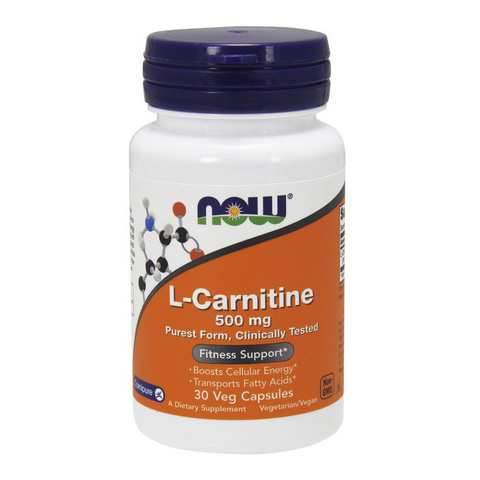 L-Carnitine 500 mg purest form