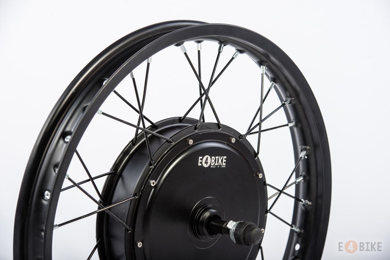 Мотор-колесо E4BIKE Turbo (Миникрошка V3), 3000 Вт