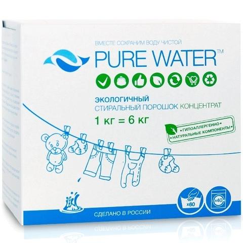 Стиральный порошок 1 кг | Pure Water
