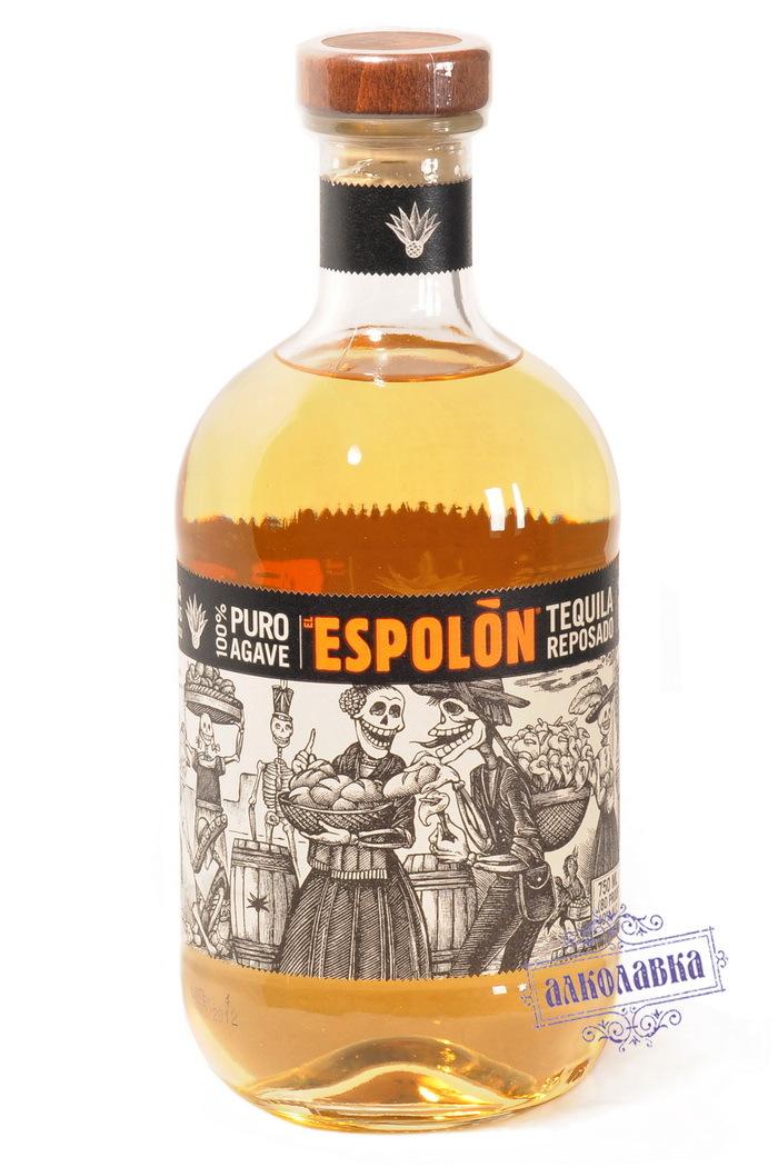 Текила Эсполон Репосадо 40% 0,75л