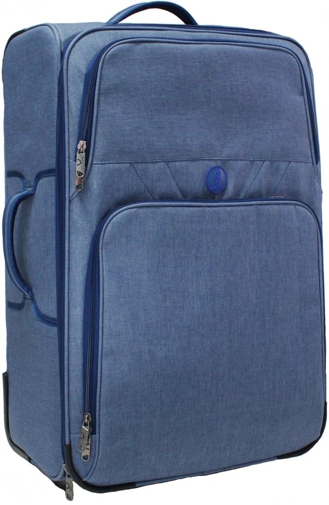 Дорожные чемоданы Чемодан Bagland Леон большой 70 л. Синий (003766927) 0e364cf4a1a53aa0afe4627cbc86d145.JPG