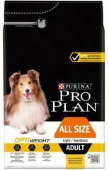 Сухой корм, Purina Pro Plan Dog, для склонных к избыточному весу и/или стерилизованных взрослых собак всех пород, с курицей и рисом