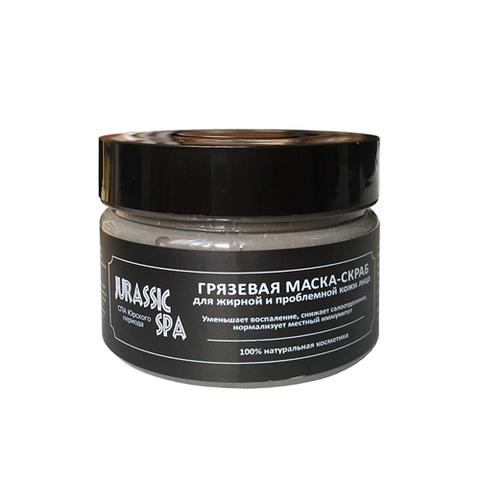 Jurassic SPA, Маска-скраб для жирной и проблемной кожи лица, 100мл