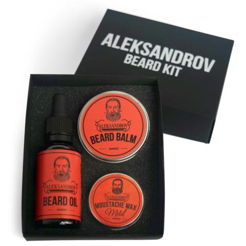 Набор для бороды Aleksandrov Beard Kit №02