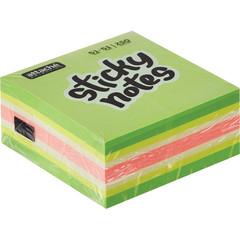 Стикеры Attache Selection Фреш 51х51 мм неоновые и пастельные 4 цвета (1 блок, 250 листов)