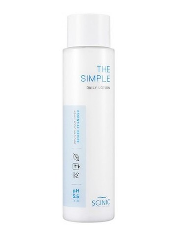 Слабокислотная мицеллярная вода Scinic The Simple Pure Cleansing Water 50 ml