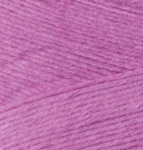 Пряжа Bamboo Fine Alize 46 ярко-розовый, фото