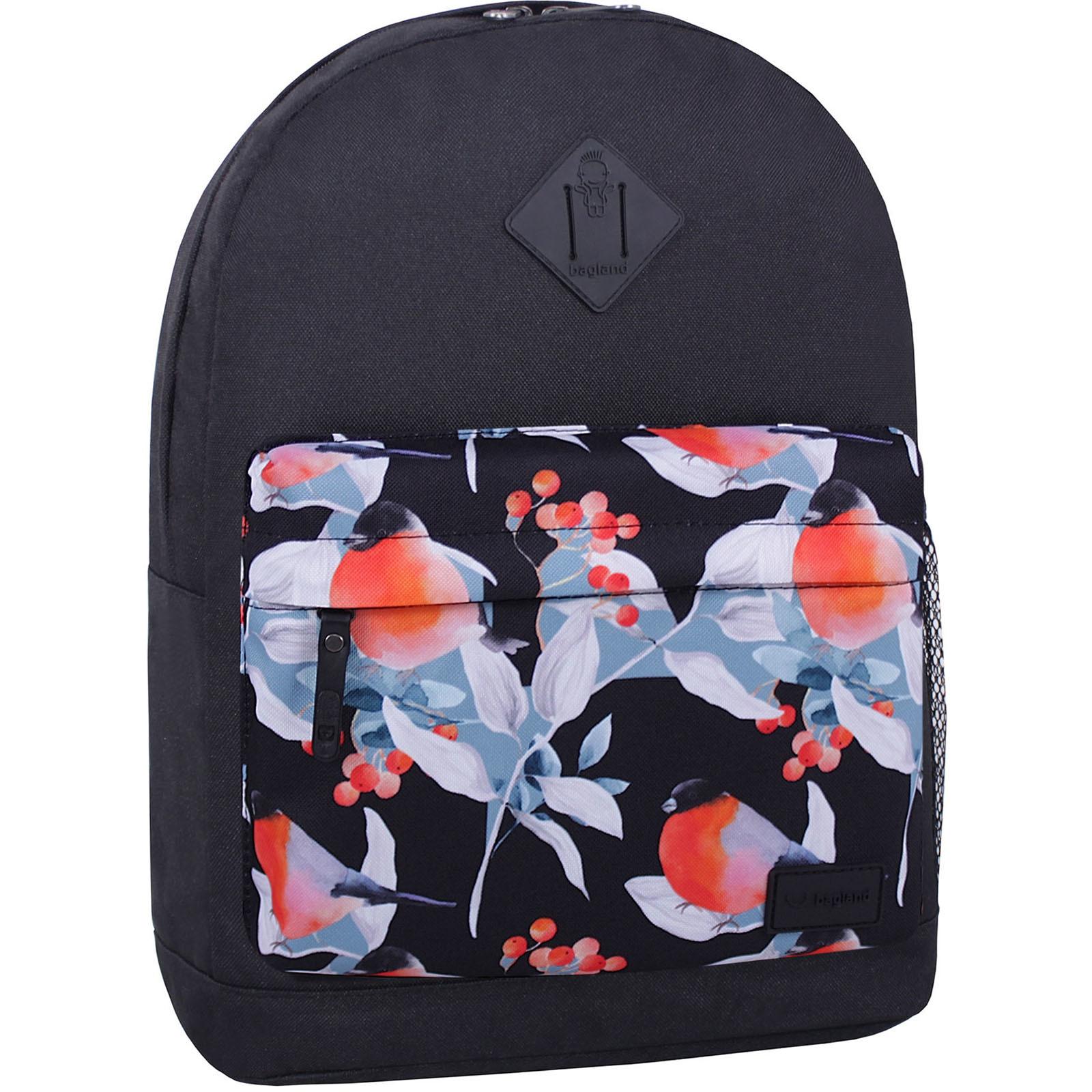 Городские рюкзаки Рюкзак Bagland Молодежный W/R 17 л. Черный 738 (00533662) IMG_6680_суб738_-1600.jpg