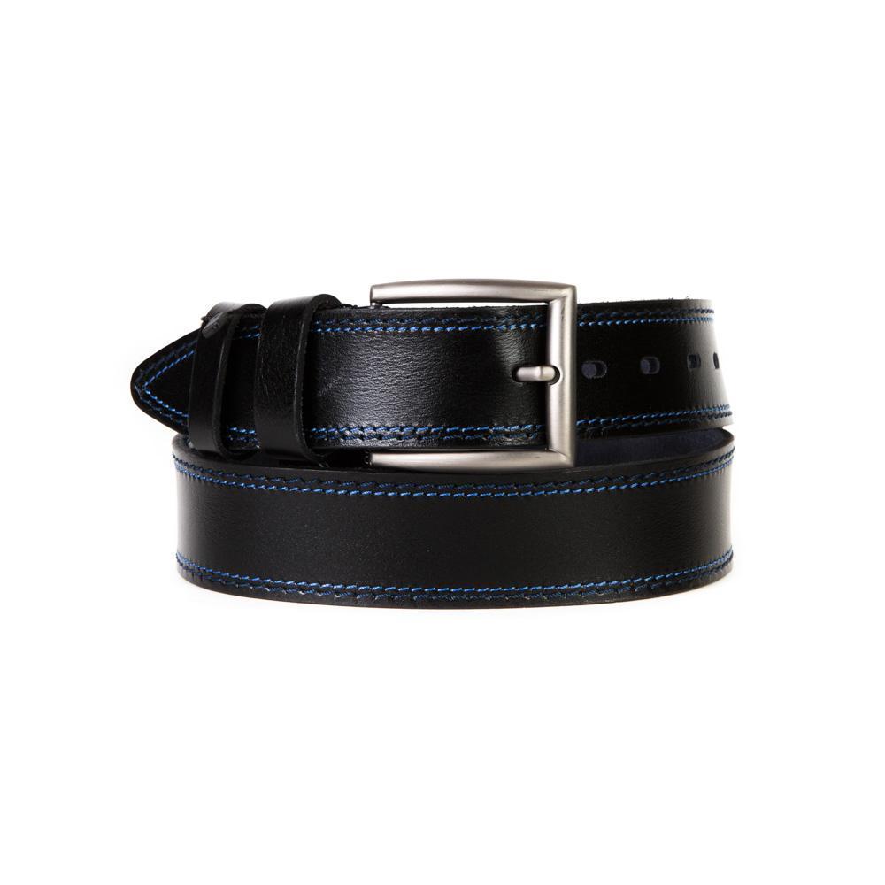 Ремень Doublecity RD45-17-02 гладкий чёрный