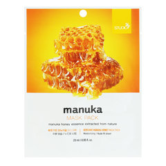 Bergamo Manuka Honey Mask Pack – Маска тканевая с экстрактом мёда манука