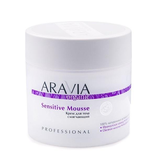 Крем для тела смягчающий Aravia Organic Sensitive Mousse 300мл