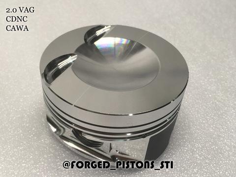 Поршни СТИ VolksWagen 2,0 CDNa палец 23/53мм кольца 1,2/1,5/2,0
