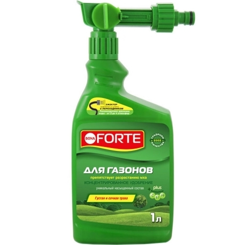 Bona Forte ЖКУ ЭЖЕКТОР для газонов. 1л удобрение