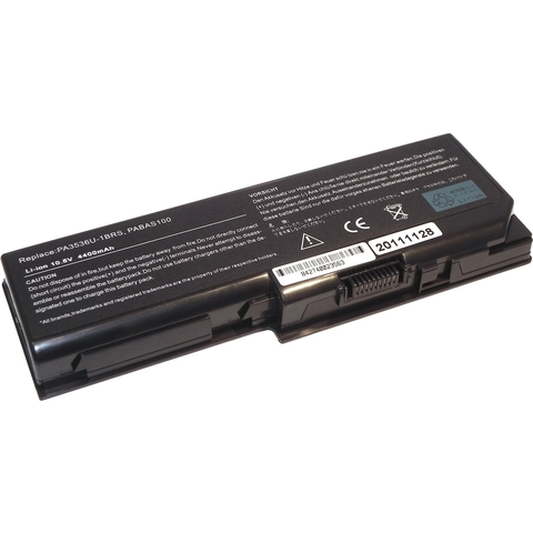 Аккумулятор для Toshiba P200 P300 (10.8V 4400MAH) PN PA3536U-1BRS, PA3537U-1BAS, PA3537U-1BRS