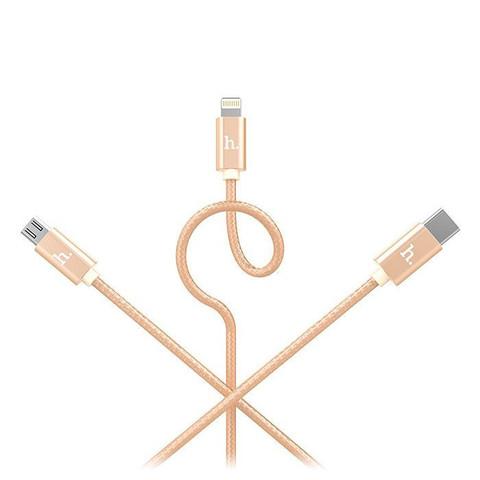 Купить кабель 3 в 1 Hoco X2
