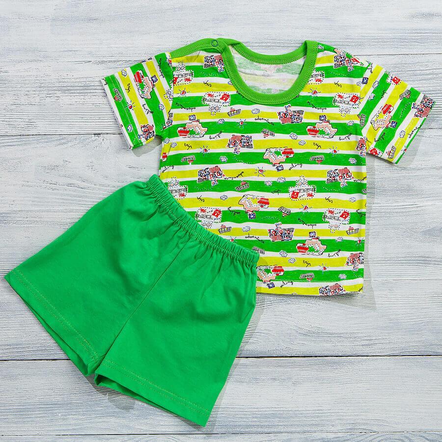 Футболка + шорты для новорожденных