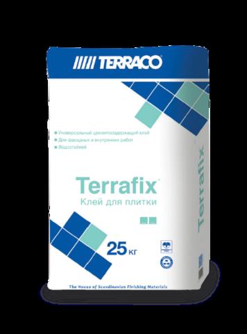 Terraco Terrafix/Террако Террафикс универсальный клеевой состав для керамической плитки и керамогранита