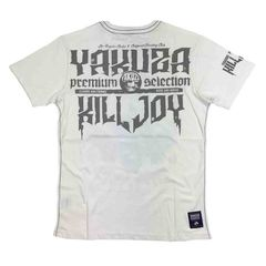 Футболка белая Yakuza Premium 2307