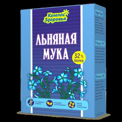 Мука льняная 300 г (Компас здоровья)
