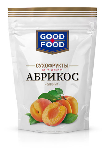 GOOD FOOD Абрикосы сушеные 200 г