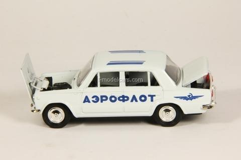VAZ-2101 Lada Aeroflot white Agat Mossar Tantal 1:43
