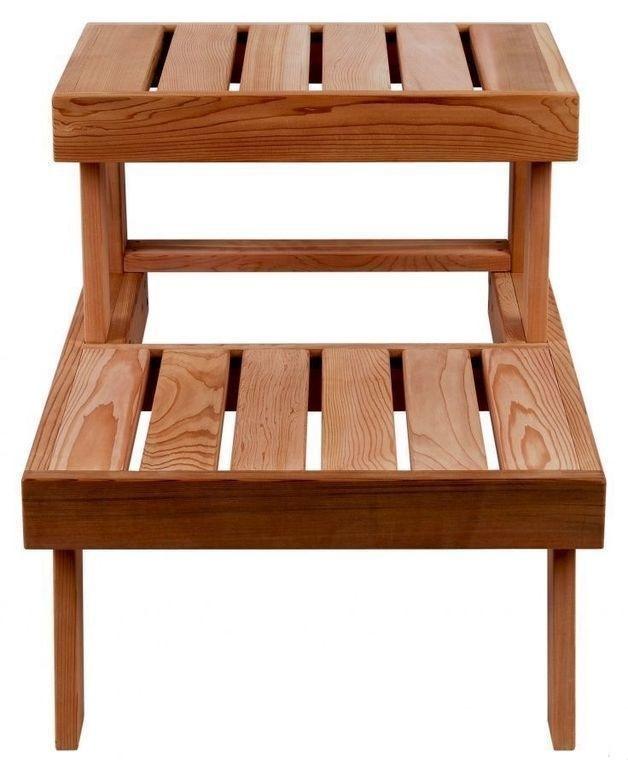 Скамейки, подголовники: Скамейка для сауны SAWO 524-D