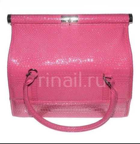 Саквояж профессиональный розовый 30*23,5*24,5