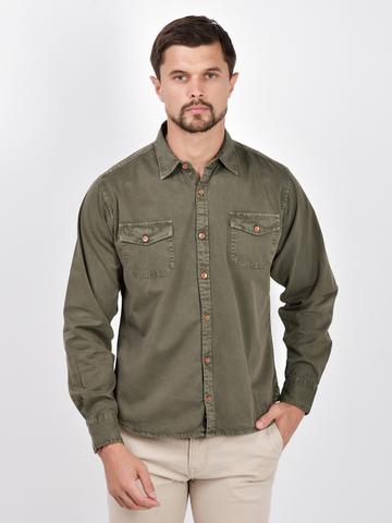 Рубашки д/р муж.  M922-02A-45GR