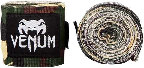 Бинты для ММА Venum Kontact 2,5m - Forest Camo