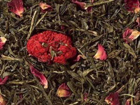 Зеленый чай Сенча Цветы граната
