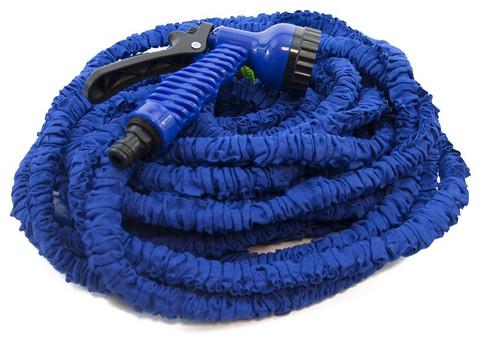 Шланг чудо для полива синий 30м