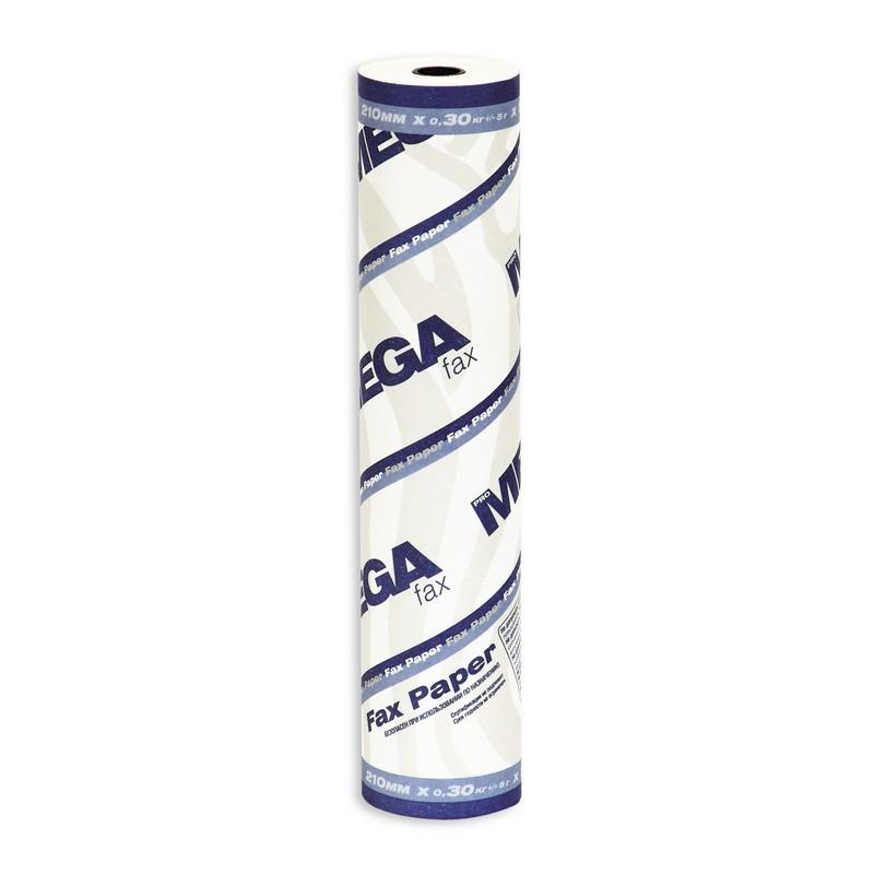 Ролик для факсов из термобумаги Promega fax 210 мм (диаметр 41-42 мм, намотка 26 м, втулка 12 мм)