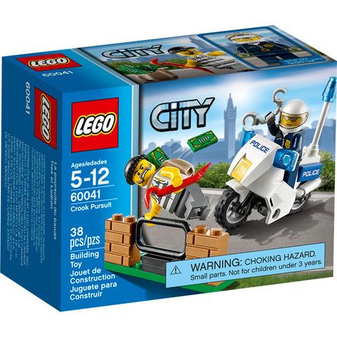 LEGO City: Погоня за воришкой 60041 — Crook Pursuit — Лего Сити Город