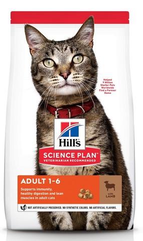 Hill's сухой корм для кошек (ягненок) 1,5кг