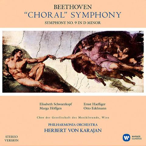 Herbert von Karajan, Philarmonia Orchestra / Beethoven: Symphony No. 9