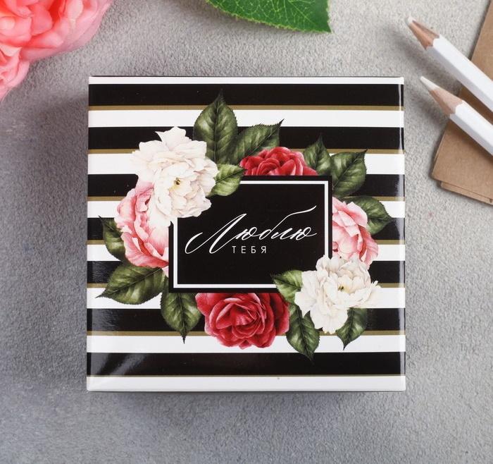 Набор для создания подарка Цветочный фото