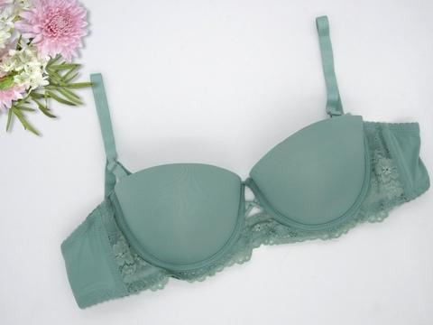 7858-2 бюстгальтер женский, зеленый