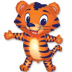 F Мини фигура Тигренок (синий) / Tiger cub (14
