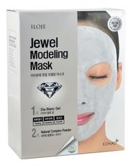 Моделирующая маска для лица с алмазной пудрой Iloje Jewel Modeling Mask Dia Blanc