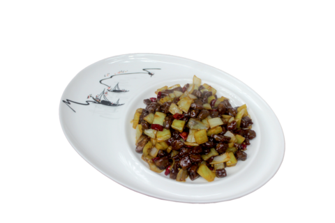 Говядина с острым перцем江湖牛肉 400гр