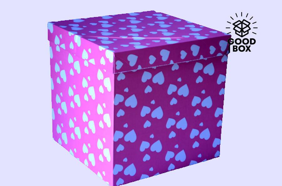 Большая коробка для шаров купить в Алматы