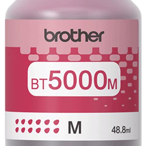 Brother BT5000M: оригинальная бутылка с пурпурными чернилами