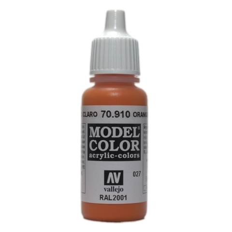 Model Color Orange Red 17 ml.