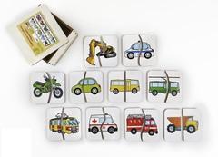 Картинки-половинки Транспорт, ToySib