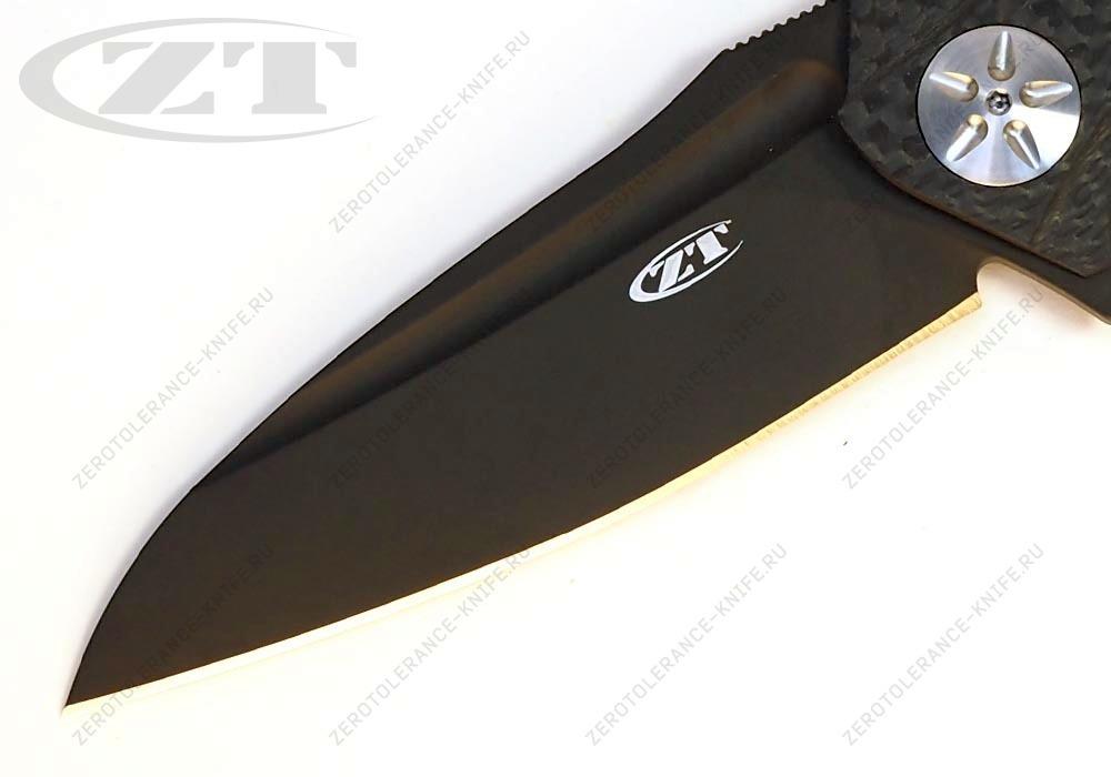 Нож Zero Tolerance 0777 M390Blk - фотография
