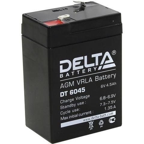 DT 6045 аккумулятор 6В/4.5Ач Delta