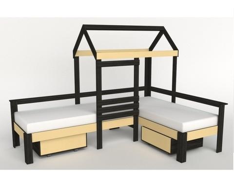Кровать-домик АВАРА-6 левая